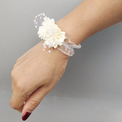 White Wedding Corsage (8pcs/lot)