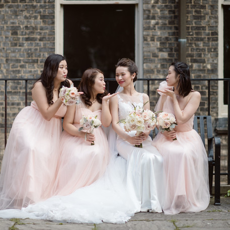 #32 Bridal And Bridesmaids Bouquets Toronto