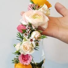 #6 Bride's/Bridesmaids/Flower Girls Halo Wreath Toronto