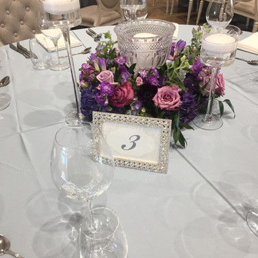 #1 Wedding Table Number Frames Candles Holders And Accessories Toronto