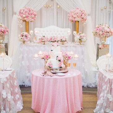 #5 Wedding Head Table Flowers Decor And Accessories GTA