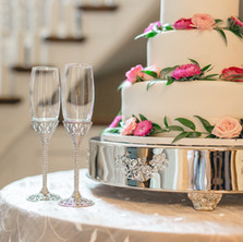 #21 Cake Table Flowers And Accessories Toronto