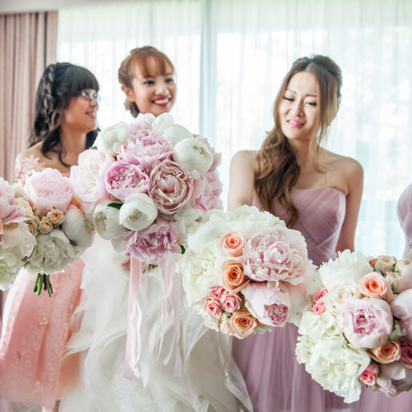 #16 Bridal And Bridesmaids Bouquets Toronto