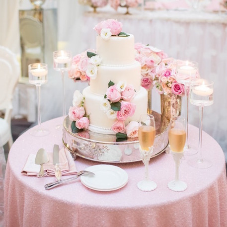 #30 Cake Table Flowers And Accessories Toronto