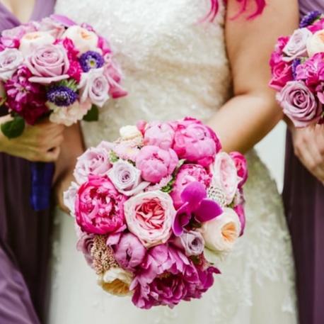 #45 Bridal And Bridesmaids Bouquets Toronto