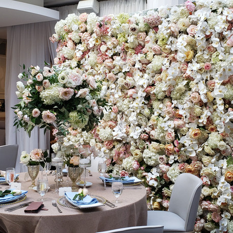 #30 Flower Wall For Wedding Ceremony And Dinner Reception Toronto