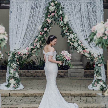#9 Floral Arch For Wedding Ceremony And Reception Toronto