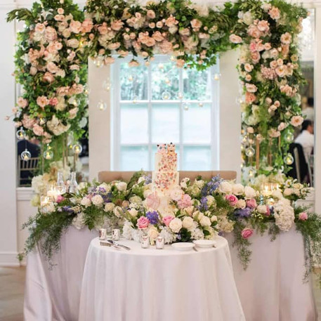#18 Floral Arch For Wedding Ceremony And Reception Toronto