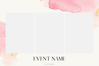 EVENT TEMPLATE #5