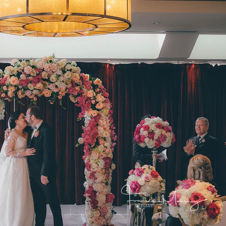 #6 Floral Arch For Wedding Ceremony And Reception Toronto