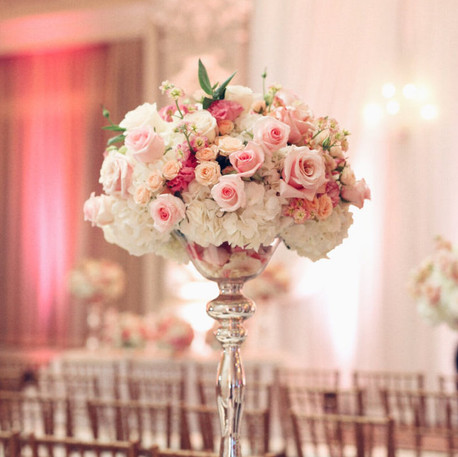 #19 Tall Fresh Floral Centrepieces For Your Wedding Reception Tables In Toronto