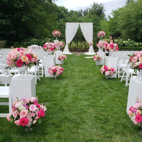 #20 Floral Arch For Wedding Ceremony And Reception Toronto