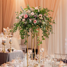 #6 Tall Fresh Floral Centrepieces For Wedding Reception Tables In The GTA