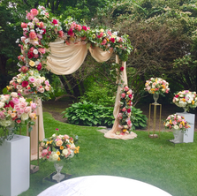 #29 Floral Arch For Wedding Ceremony And Reception Toronto