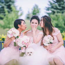 #14 Bridal Bouquet And Bridesmaids Bouquets Toronto