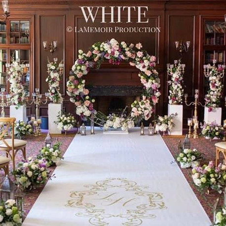#19 Floral Arch For Wedding Ceremony And Reception Toronto