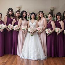 #43 Bridal And Bridesmaids Bouquets Toronto