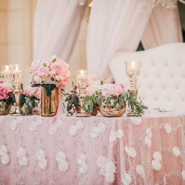 #19 Wedding Head Table Flowers Decor And Accessories GTA