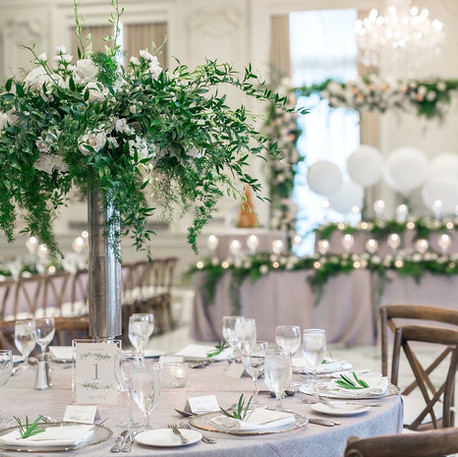 #5 Tall Fresh Floral Centrepieces For Wedding Reception Tables In The GTA