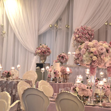 #18 Rental Tall Glass Vases And Rental Floral Centrepieces