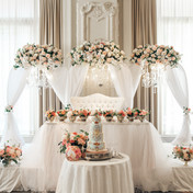 #6 Wedding Head Table Flowers Decor And Accessories GTA