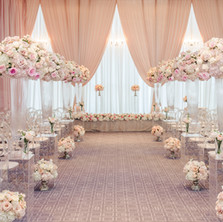 #21 Tall Fresh Floral Centrepieces For Wedding Reception Tables In Toronto