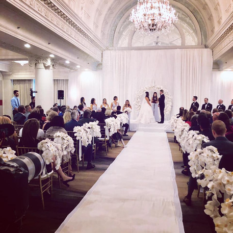 #12 Floral Arch For Wedding Ceremony And Reception Toronto