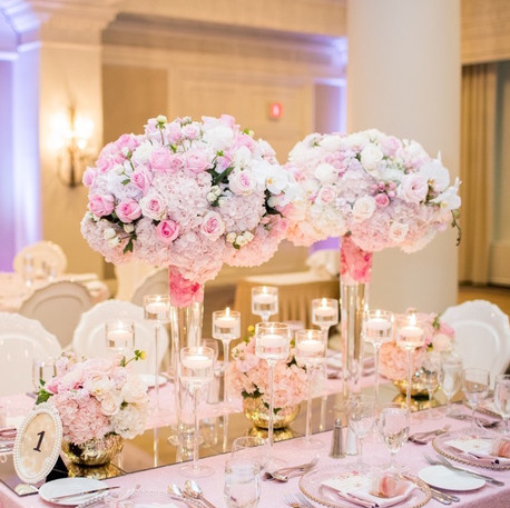 #17 Tall Fresh Floral Centrepieces For Your Wedding Reception Tables In The GTA
