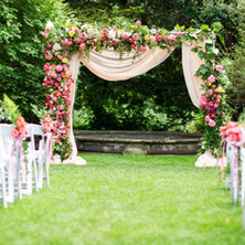 #4 Floral Arch For Wedding Ceremony And Reception.