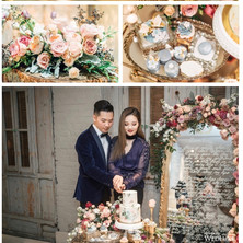 #32 Cake Table Flowers And Accessories Toronto