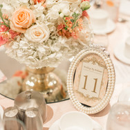#4 Wedding Table Number Frames Candles Holders And Accessories Toronto