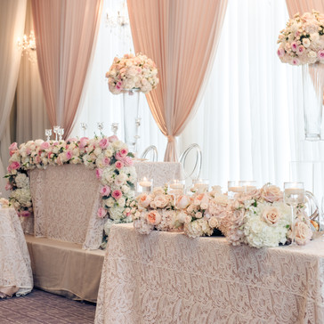 #22 Wedding Head Table Flowers Decor And Accessories GTA