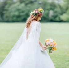 #3 Floral Halo Wreath For Brides/Bridesmaids/Flower Girls Toronto
