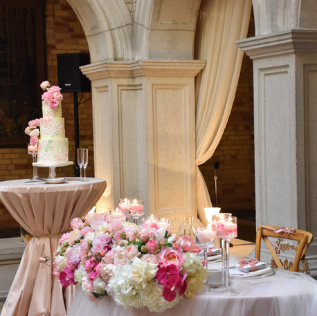#33 Cake Table Flowers And Accessories Toronto