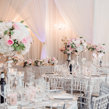 #2 Tall Fresh Floral Centrepieces For Wedding Reception Tables In The GTA