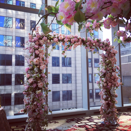 #22 Floral Arch For Wedding Ceremony And Reception Toronto