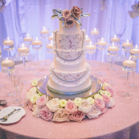 #24 Cake Table Flowers And Accessories Toronto
