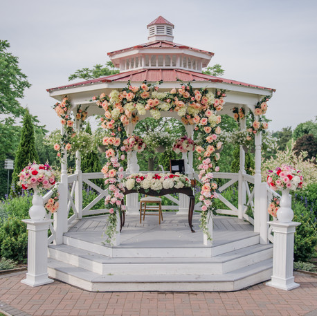 #3 Floral Gazebo For Wedding Ceremony Toronto