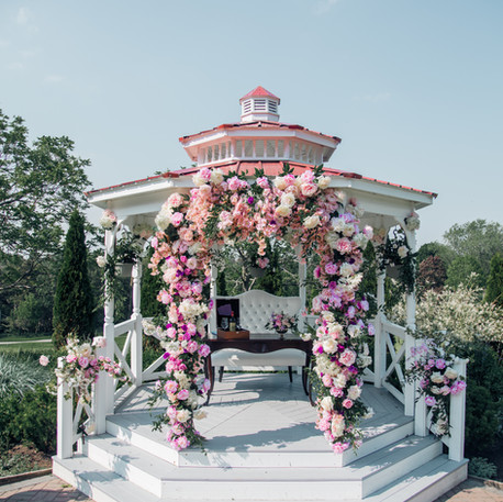 #7 Floral Arch For Wedding Ceremony And Reception Toronto