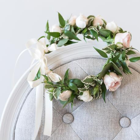 #9 Halo Wreath for Flower Girls Toronto
