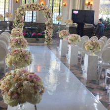 #17 Floral Arch For Wedding Ceremony And Reception Toronto