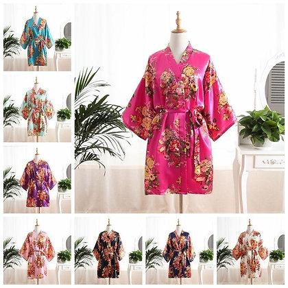 Silk Satin Bridal Robe