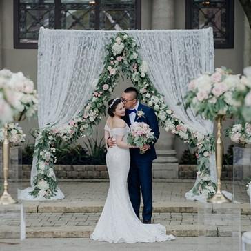 #10 Pedestals For Wedding Ceremony And Reception Toronto