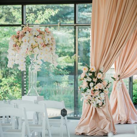 #26 Custom Wedding Ceremony And Reception Floral Arrangements Toronto