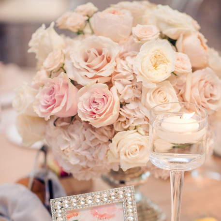 #8 Low Fresh Floral Centrepieces For Wedding Reception Tables In The GTA