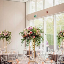 #15 Tall Fresh Floral Centrepieces For Wedding Reception Tables In Toronto
