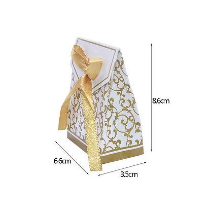 Kraft Paper Candy Boxes 10Pcs