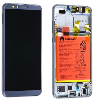 Ecran complet (châssis + batterie) Honor 9 Lite d'origine Huawei
