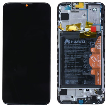 Ecran complet (châssis + batterie) Huawei P Smart 2019  d'origine Huawei