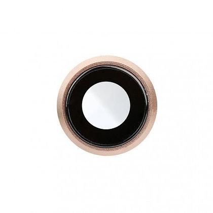 Lentille caméra arrière iPhone 8 + châssis